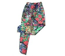 MAIMIE London Womens Floral Print Silk Trousers BNWOT Size 2
