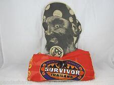 Survivor THAILAND ORANGE CHUAY GAHN BUFF Authentic Original Unpunched NWT 2002
