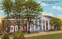 La Grange Georgia~La Grange College For Women~Dobbs Hall~1953 Postcard
