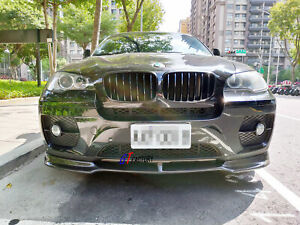 CARBON FRONT LIP SPOILER FOR BMW E71 X6 WITH STANDARD BUMPER