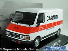 FIAT 242 CARNITI MODEL VAN 1:43 SCALE IXO 1978 MOTORI FUORIBORDO BOAT SERVICE K8