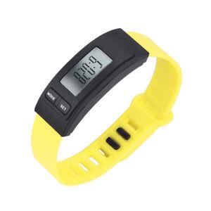 Hot Unisex Run Step Watch Pedometer Calorie Counter Digital LCD Walking Distance