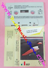 MC SIMPLE MINDS Life in a day 1982 italy VIRGIN OVEDK 7095 no cd lp vhs dvd