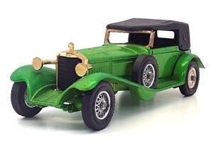 Matchbox Models Of Yesteryear Y-16 - 1928 Mercedes SS Coupe - Green