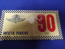 1990 INDY 500 INFIELD PARKING