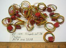 25 Trim Pots 10K w/ Wire Leads, TECHNO #10K7038, Lot 78, Made in USA