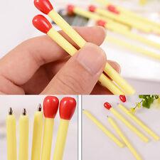 Creative 5X Novelty Match Style Shape Ballpoint Pen Student Office Stationery