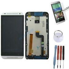 ECRAN LCD + VITRE TACTILE SUR CHASSIS BLOC COMPLETE POUR HTC DESIRE 601 BLANC