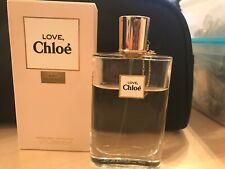 Chloe Love EDT 50ml Bottle Approx  3/4 Left