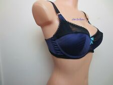 M&S 30B limited collection Purple Grape Balcony Bra Free P&P Marks & Spencer