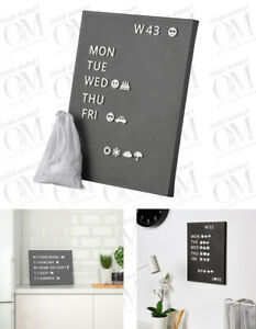 IKEA Pegboard with letters for personalised message signs home office decor
