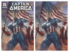 CAPTAIN AMERICA #1 Parrillo Virgin Variant Cover Set Marvel 1st Print New NM