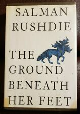 The Ground Beneath Her Feet by Salman Rushdie (1999, hardcover) Large Print
