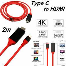1080p Type C USB C a a HDMI HD TV, CABLE AV ADAPTADOR para MacBook Samsung 4k de