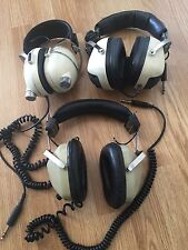 3 X Ham Radio 1970s Era Headphones Pioneer Stereo Realistic Nova Pro And ?