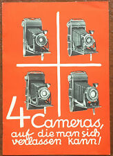 AGFA 4 Cameras   - Prospekt 8 Seiten