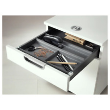 Drawer insert with 6 compartments, anthracite, 44x37 cm Summera
