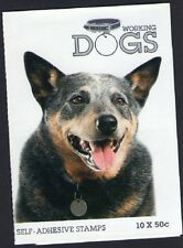 2008 AUSTRALIAN STAMP BOOKLET WORKING DOGS - CATTLE DOG 10 x 50c STAMPS MUH