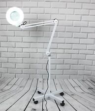 FoxHunter Magnifier Clip Floor Stand Lamp Glass Salon SPA Beauty Diopter White