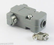 100sets Grey D-Sub DB9 9Pin Plastic Hood Cover for 9 Pin 15 Pin D-Sub Connector