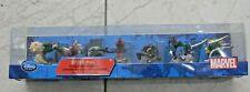 Disney Store Spiderman 7 piece Figurine Playset NIB Free Shipping Marvel