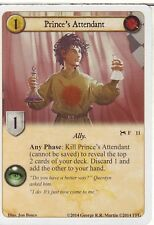 3 x Prince's Attendant AGoT LCG 1.0 Game of Thrones Secrets and Schemes 11