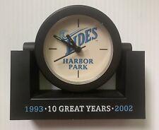 2002 NORFOLK TIDES MINOR LEAGUE BASEBALL TEAM DESK CLOCK, NORFOLK, VA