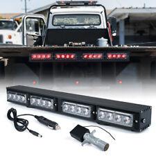 """Xprite Red 21.5"""" Wireless LED Light Bar Traffic Advisor for 12V Tow Truck Pickup"""