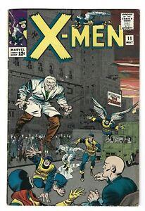 X-Men #11 ( May 1965, Marvel ) VG/FN 1st Stranger App.