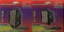 Kawasaki Disc Brake Pads KX500 1996-2004 Front & Rear (2 sets)