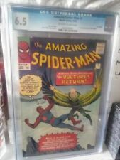 AMAZING SPIDER-MAN #7 CGC 6.5 2ND APPEARANCE VULTURE UK EDITION