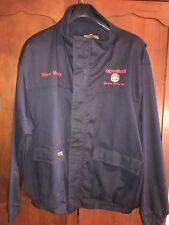EXXON MOBIL Baytown olefins plant Big Bill sz XL workwear navy coat jacket steve