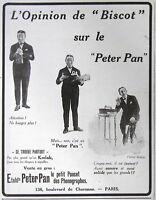 PUBLICITÉ DE PRESSE 1925 LE PETER PAN LE PETIT POUCET DES PHONOGRAPHES - KODAK