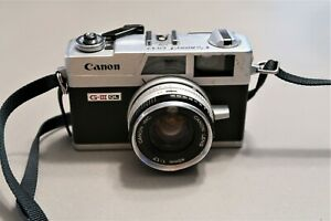 Vintage Old Canon Canonet QL17 GIII G3 35mm f/1.7 Film Camera Parts / Repair Old