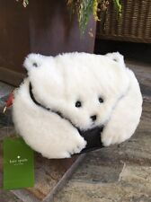 "PRECIOUS! Kate Spade New York ""POLAR BEAR SHEARLING"" Crossbody/ Clutch Bag, NWT"