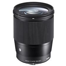 Sigma 16mm f/1.4 DC DN Contemporary Lens for Micro Four Thirds, Black #402963