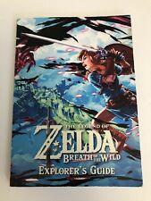 The Legend of Zelda: Breath of the Wild - Explorer's Guide Book (Nintendo, 2017)