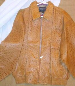 Bernini Genuine Ostrich Jacket