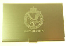 AAC ARMY AIR CORPS ENGRAVED CREDIT/BUSINESS CARD HOLDER