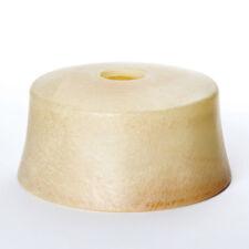 Glas Ersatzglas Lampenschirm Alabaster beige 30cm Schirm Lochmaß E27 40mm