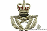 Staybrite: Royal Air Force RAF Warrant Officers Staybright Cap Badge - Anodised
