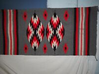 "Beautiful Navajo Crystal Woven Rug 329"" x 61.5"" circa 1960s"