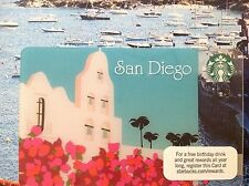 San Diego Starbucks Gift Cards 2012 Limited Edition No Cash Value