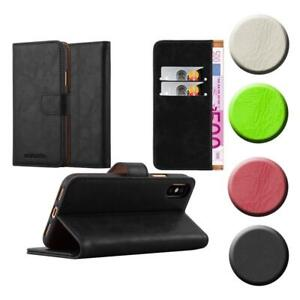 Case for Apple iPhone X / XS Phone Cover Luxury Protective Wallet Book