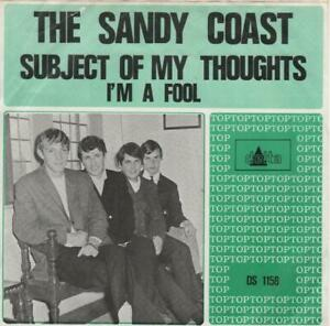 SANDY COAST Subject Of My Thoughts 1966 RARE Holland BEAT single NICE condition!