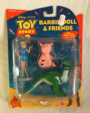 Toy Story 2 Barbie Doll & Friends Action Figure Set in Original Package