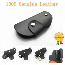 Genuine Leather Auto Remote Smart Key Entry Protective Holder Fob Case Cover New