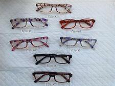 NEW Plastic Color Unisex Reading Glasses Mens Womans  + FREE GIFT!