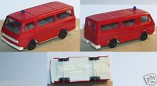 HERPA HO 1/87 VW LT MINI AUTOBUS ARTIFICIERI POMPIERI FIRE