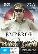 Emperor (DVD, 2013) region 4 - Tommy Lee Jones (LINCOLN)